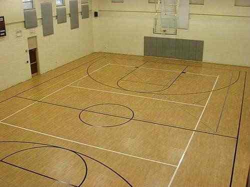 综合运动馆木地板