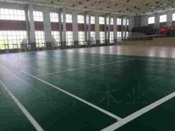 宁夏银川消防总队培训基地室内体育