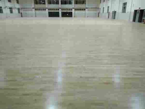 山东德州临邑第一中学体育馆木地板