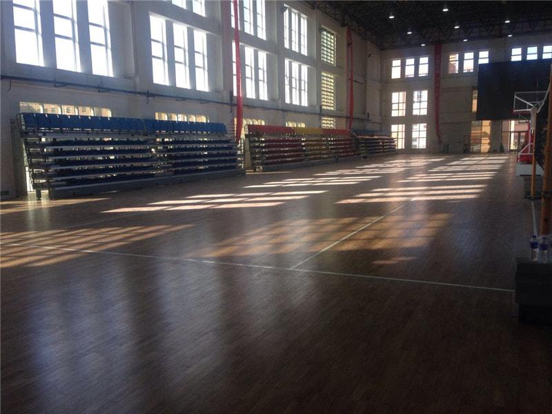 体育木地板日常使用保养需留意六点问题