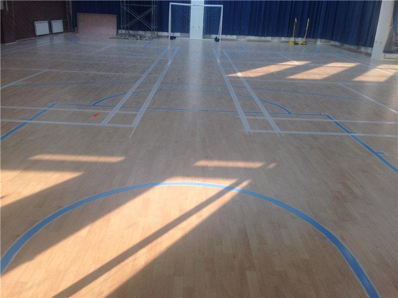 体育场馆的档次已与运动木地板分不开