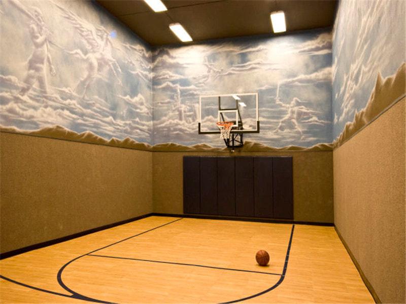 NBA地板讲究,那欧氏地板呢