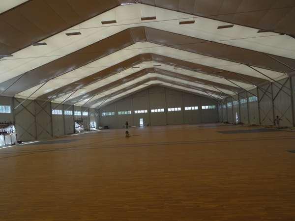 体育场木地板安装费用