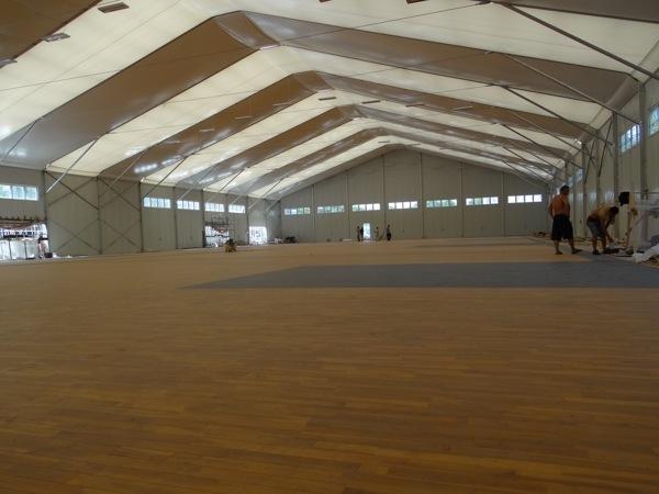 体育场馆木地板多钱一平